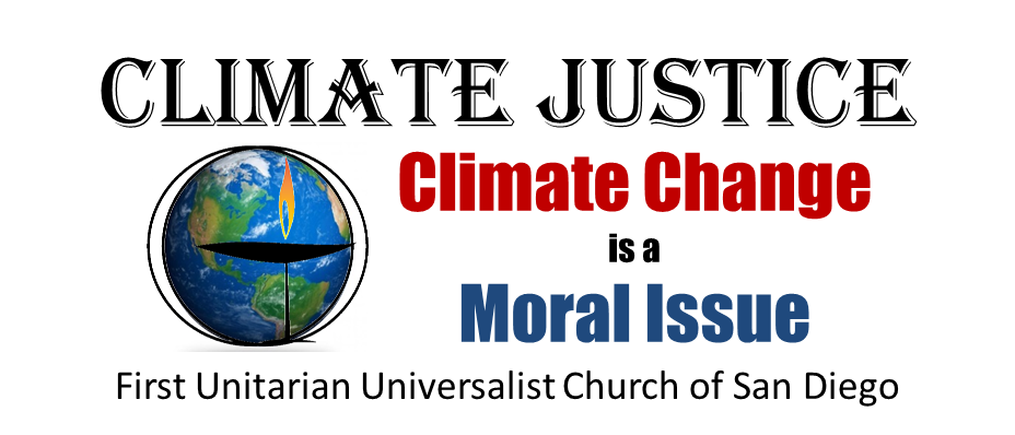 Climate Justice First Unitarian Universalist Church of San Diego